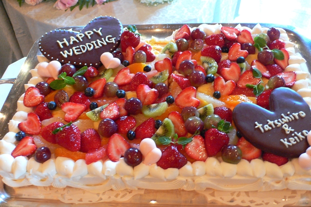 ウェディングケーキ お祝いケーキ