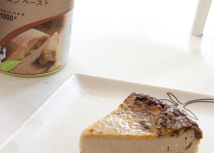 フランス栗のチーズケーキ
